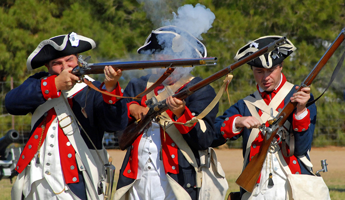 the american heritage as created by the revolutionary war years